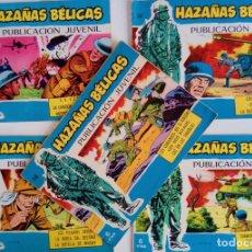 Tebeos: COLECCIÓN HAZAÑAS BÉLICAS Nº 330, 347, 355, 356, 358 - LA CUERDA, LA CANCIÓN DE UN COBARDE Y OTROS. Lote 162296994