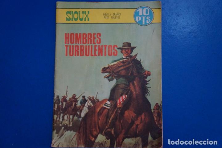 COMIC DE HOMBRES TURBULENTOS AÑO 1967 Nº 91 DE EDICIONES TORAY LOTE 19 (Tebeos y Comics - Toray - Sioux)