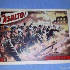 Tebeos: ANTIGUO COMIC DE HAZAÑAS BELICAS AL ASALTO DE EDICIONES TORAY ORIGINAL VER FOTO Y DESCRIPCION. Lote 162686494