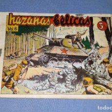 Tebeos: ANTIGUO COMIC DE HAZAÑAS BELICAS VOL. 6 DE EDICIONES TORAY ORIGINAL VER FOTOS Y DESCRIPCION. Lote 162688062