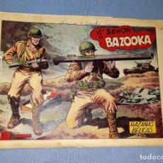 Tebeos: ANTIGUO COMIC DE HAZAÑAS BELICAS EL SEÑOR BAZOOKA EDICIONES TORAY ORIGINAL VER FOTO Y DESCRIPCION. Lote 162688626