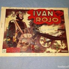 Tebeos: ANTIGUO COMIC DE HAZAÑAS BELICAS IVAN EL ROJO EDICIONES TORAY ORIGINAL VER FOTO Y DESCRIPCION. Lote 162691214