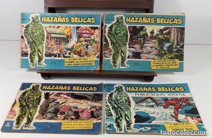 Tebeos: HAZAÑAS BÉLIUCAS. 16 EJEMPLARES. EDIC. TORAY. BARCELONA. SIGLO XX. - Foto 4 - 162924814