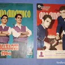 Tebeos: 2 COMICS SERENATA EXTRA DUO DINAMICO ALMANAQUE 1964 EDICIONES TORAY AÑO VER FOTOS Y DESCRIPCION. Lote 163079510