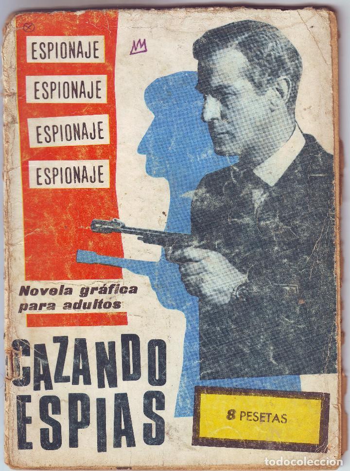 CAZANDO ESPIAS DE TORAY (Tebeos y Comics - Toray - Espionaje)