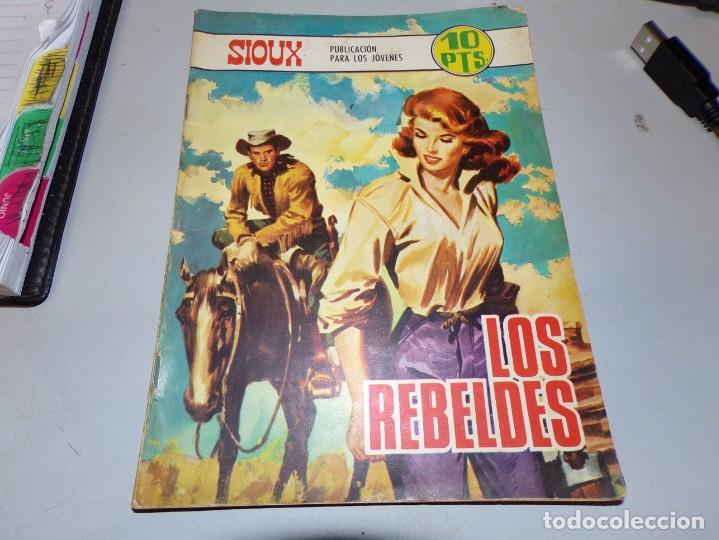 SIOUX LOS REBELDES (Tebeos y Comics - Toray - Sioux)