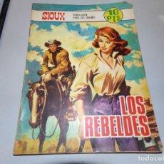 Tebeos: SIOUX LOS REBELDES. Lote 163488230