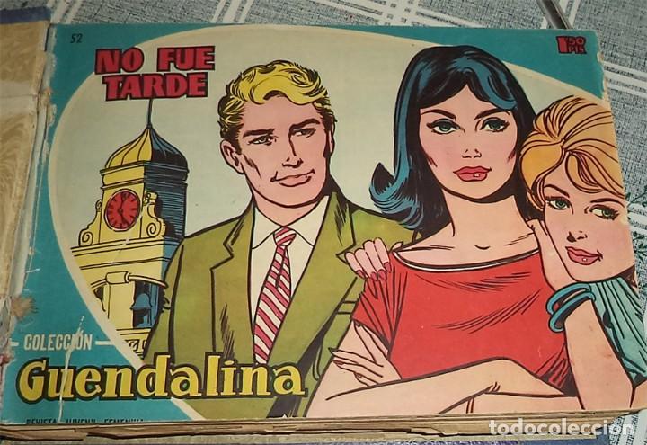 Tebeos: GUENDALINA TOMO CON 48 REVISTAS DEL 52 A LA 100 Ed TORAY 1959 - Foto 2 - 163901662