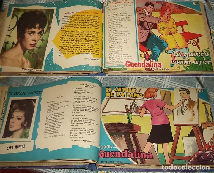 Tebeos: GUENDALINA TOMO CON 48 REVISTAS DEL 52 A LA 100 Ed TORAY 1959 - Foto 3 - 163901662
