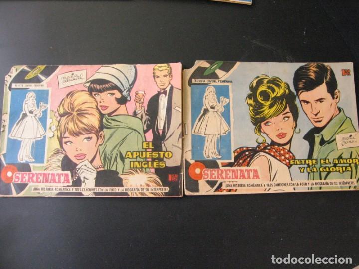 Tebeos: Lote de 6 Tebeos Comics serie Juvenil Femenina Serenata Dibujos Maria Pascual - Foto 2 - 164349394