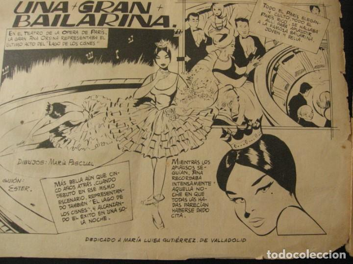Tebeos: Lote de 6 Tebeos Comics serie Juvenil Femenina Serenata Dibujos Maria Pascual - Foto 11 - 164349394