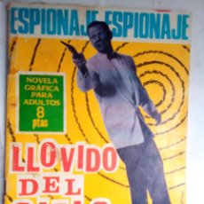 Comics - ESPIONAJE - Nº 42 -LLOVIDO DEL CIELO - GRAN JOSEP GUAL-1966-BUENO-DIFÍCIL- ESCASO-LEAN-1114 - 164612190