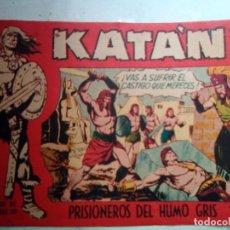 Tebeos: KATÁN - Nº 17 -PRISIONEROS DEL HUMO GRIS- 1961-GRAN BROCAL-BUENO-MUY DIFÍCIL-LEAN-1131. Lote 164743566