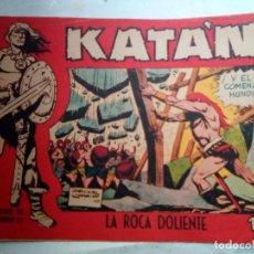 Tebeos: KATÁN - Nº 19 -LA ROCA DOLIENTE- 1961-GRAN BROCAL- FANTASÍA HEROICA- BUENO-MUY DIFÍCIL-LEAN-1132. Lote 164744858