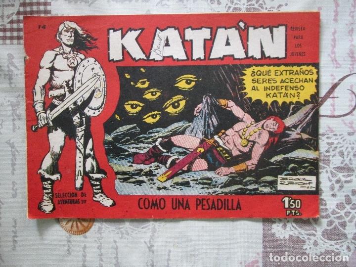KATAN Nº 14 (Tebeos y Comics - Toray - Katan)