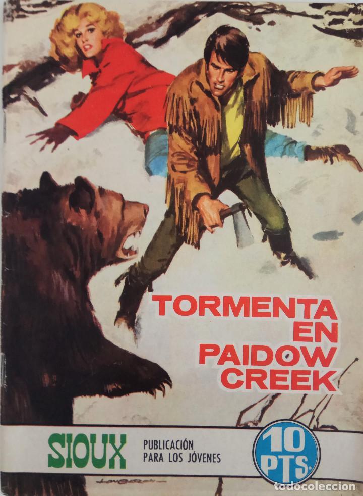 COLECCIÓN SIOUX Nº 137 - TORMENTA EN PAIDOW CREEK (Tebeos y Comics - Toray - Sioux)