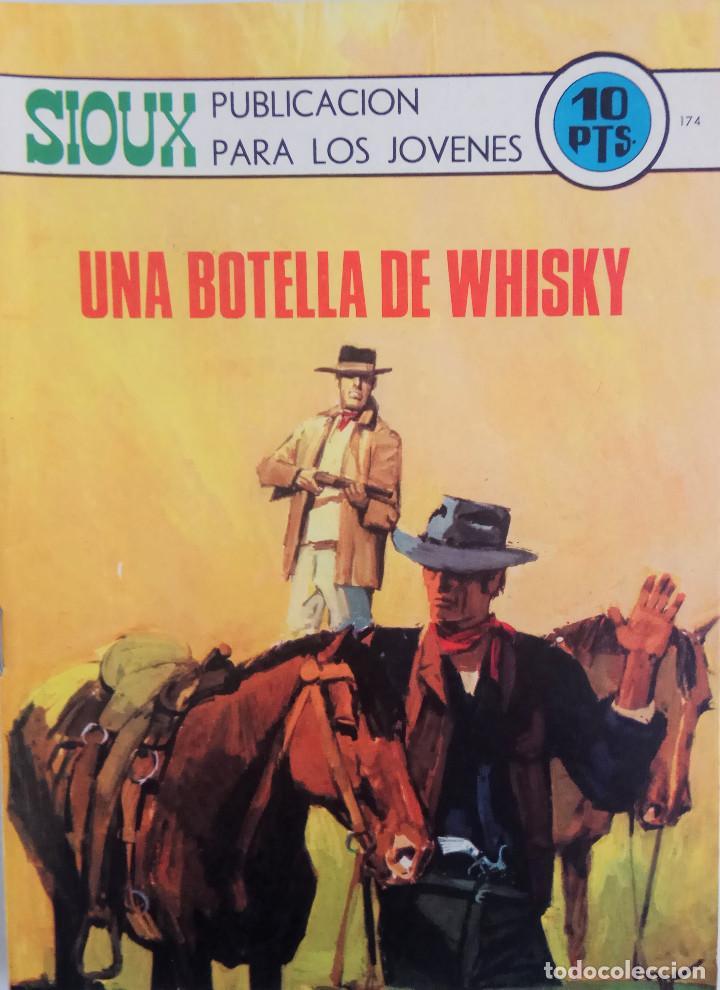 COLECCIÓN SIOUX Nº 174 - UNA BOTELLA DE WHISKY (Tebeos y Comics - Toray - Sioux)
