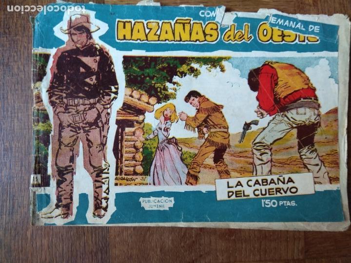 HAZAÑAS DEL OESTE, LA CABAÑA DEL CUERVO Nº 15 TORAY - (Tebeos y Comics - Toray - Hazañas del Oeste)