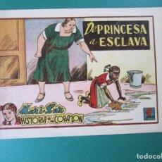 Tebeos: MARI-LUZ (1950, TORAY) 7 · 1951 · DE PRINCESA A ESCLAVA. Lote 165538978