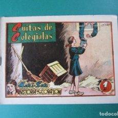 Tebeos: MARI-LUZ (1950, TORAY) 8 · 1951 · CUITAS DE COLEGIALAS. Lote 165539642