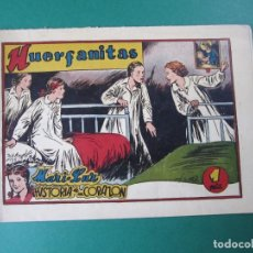 Tebeos: MARI-LUZ (1950, TORAY) 9 · 1951 · HUERFANITAS - ¡¡¡DIFICIL!!!. Lote 165543314