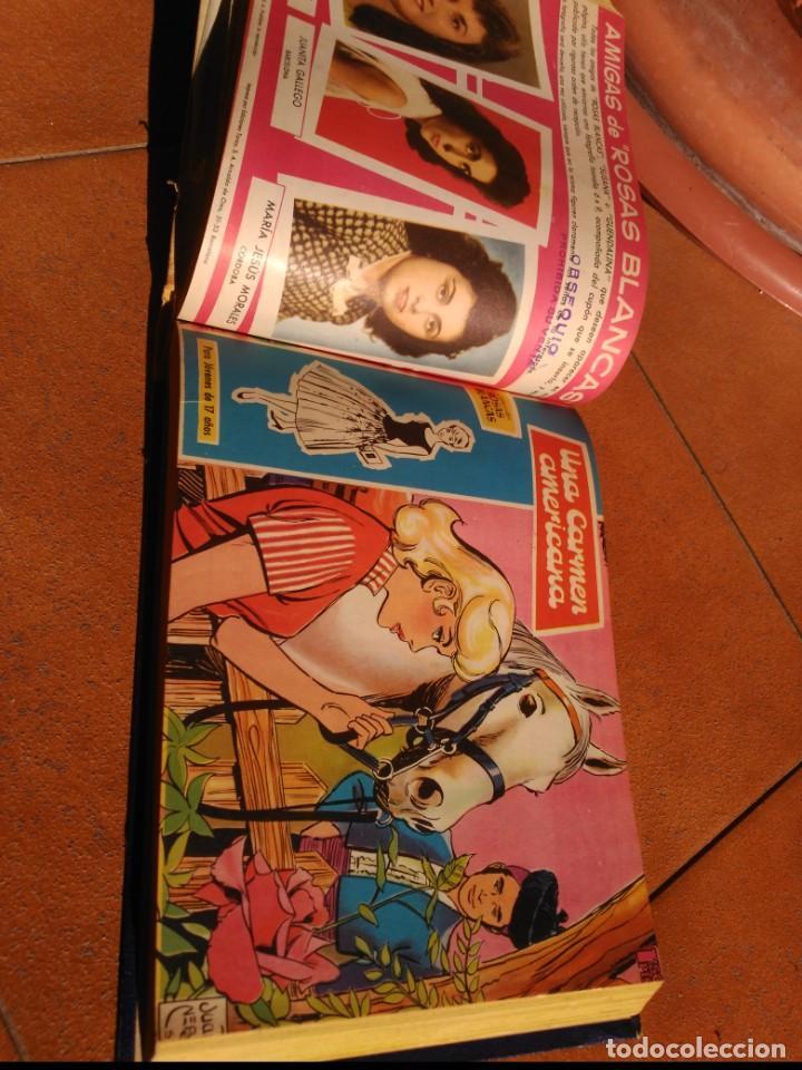 Tebeos: Rosas Blancas/Azucena Tomo con 27 tebeos con 81 historias - Foto 3 - 165776326