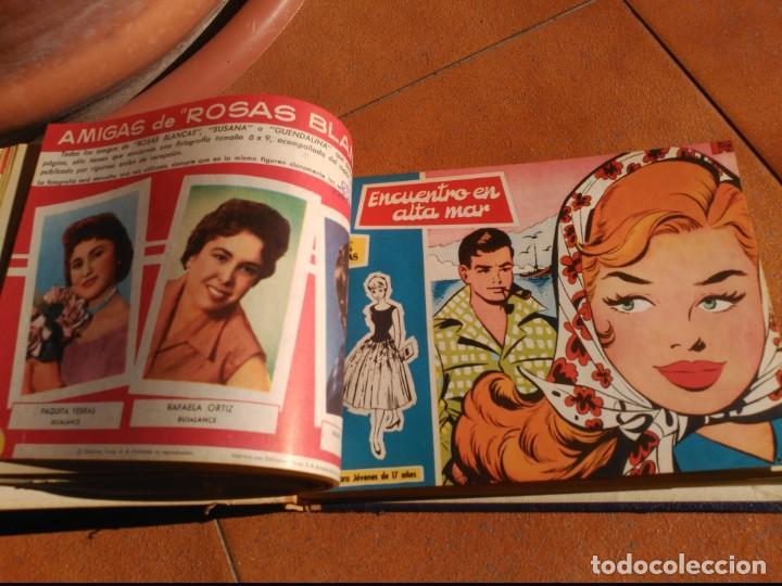 Tebeos: Rosas Blancas/Azucena Tomo con 27 tebeos con 81 historias - Foto 4 - 165776326