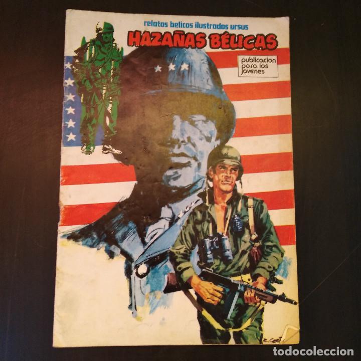 HAZAÑAS BÉLICAS 1973 Nº19 - EDICIONES TORAY - EDITA URSUS - EL DESIERTO EN LLAMAS - RARO (Tebeos y Comics - Toray - Hazañas Bélicas)