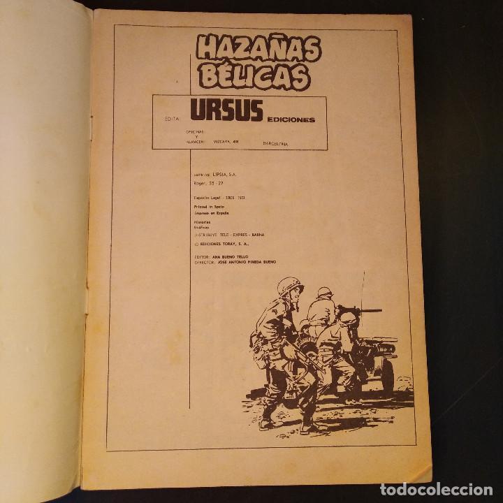 Tebeos: Hazañas Bélicas 1973 Nº19 - Ediciones Toray - Edita Ursus - El Desierto en Llamas - Raro - Foto 3 - 166458238
