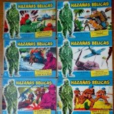 Tebeos: LOTE DE 65 CÓMIC DE HAZAÑAS BÉLICAS. AÑOS 1964-65, 1971. Lote 166625442