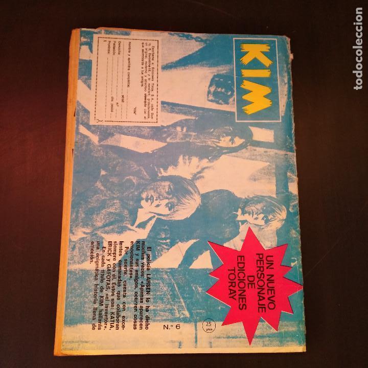 Tebeos: Espionaje Nº6 - Relatos Policiacos Ilustrados - 1974 - Ursus Ed. Toray - Raro - Foto 2 - 166788706