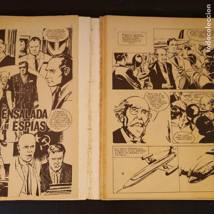 Tebeos: Espionaje Nº6 - Relatos Policiacos Ilustrados - 1974 - Ursus Ed. Toray - Raro - Foto 4 - 166788706