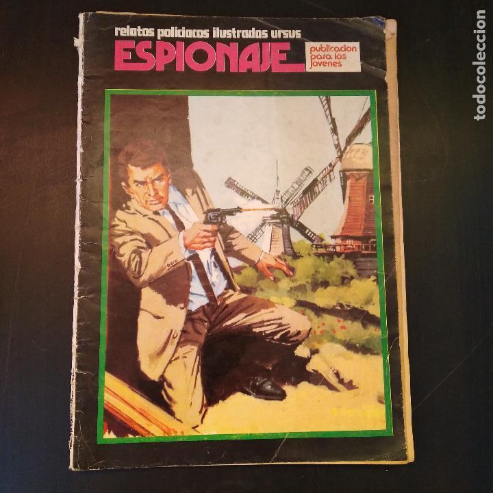 ESPIONAJE Nº6 - RELATOS POLICIACOS ILUSTRADOS - 1974 - URSUS ED. TORAY - RARO (Tebeos y Comics - Toray - Espionaje)