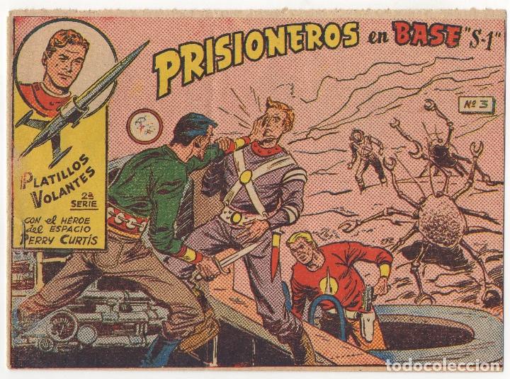 Tebeos: PLATILLOS VOLANTES nº 3 y 7 (1963) y RED DIXON nº 46 (1954) - Foto 2 - 131547978