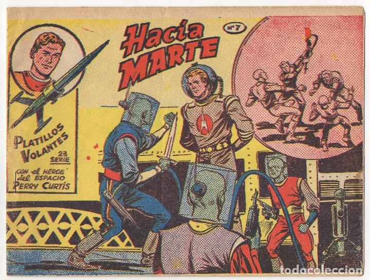 Tebeos: PLATILLOS VOLANTES nº 3 y 7 (1963) y RED DIXON nº 46 (1954) - Foto 4 - 131547978