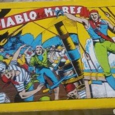 Tebeos: EL DIABLO DE LOS MARES COLECCIÓN COMPLETA FACSIMIL. INCLUYE ESTUCHE. EDICIONES TORAY. 68 EJEMPLARES.. Lote 167813841