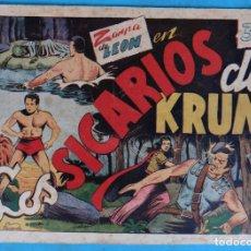Tebeos: ZARPA DE LEON , ALBUM II 2, LOS SICARIOS DE KRUM , ANTIGUO , ORIGINAL , CT1 . Lote 167823884