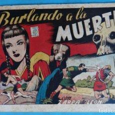 Tebeos: ZARPA DE LEON , ALBUM IV 4 , BURLANDO A LA MUERTE , ANTIGUO , ORIGINAL , CT1. Lote 167824048