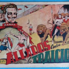 Tebeos: ZARPA DE LEON , ALBUM 6 , ALIADOS CONTRA LA TRAICION , ANTIGUO , ORIGINAL , CT1. Lote 167824240