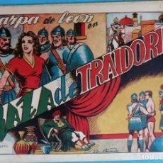 Tebeos: ZARPA DE LEON , ALBUM 8 , RAZA DE TRAIDORES , ANTIGUO , ORIGINAL , CT1. Lote 167824352