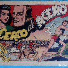 Tebeos: ZARPA DE LEON , ALBUM 15 XV , CERCO DE ACERO , ANTIGUO , ORIGINAL , CT1. Lote 167824636