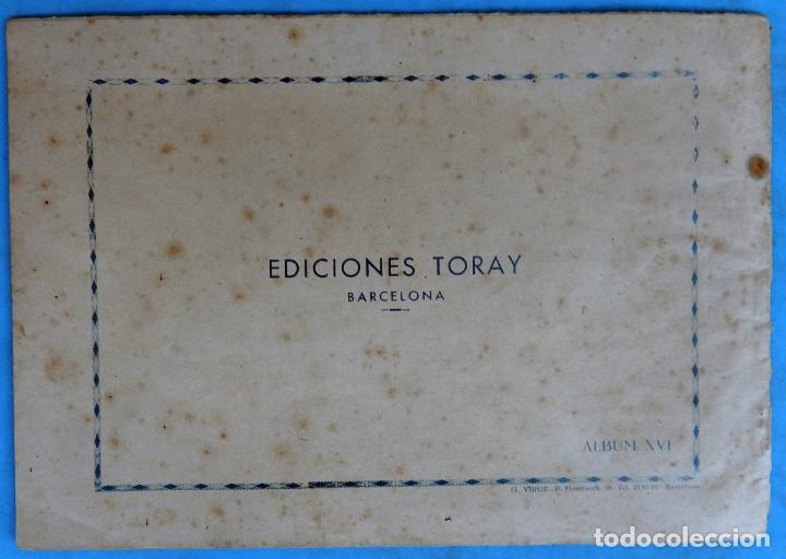 Tebeos: ZARPA DE LEON , ALBUM 16 XVI , HORAS DE ANGUSTIA , ANTIGUO , ORIGINAL , CT1 - Foto 2 - 167824720