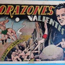 Tebeos: ZARPA DE LEON , ALBUM 17 XVII , CORAZONES VALIENTES , ANTIGUO , ORIGINAL , CT1. Lote 167824808