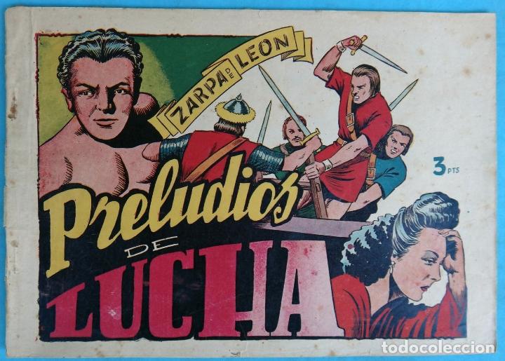 ZARPA DE LEON , ALBUM 20 XX , PRELUDIOS DE LUCHA , ANTIGUO , ORIGINAL , CT1 (Tebeos y Comics - Toray - Zarpa de León)