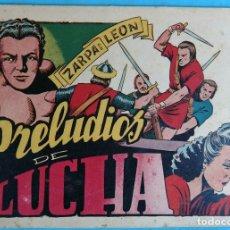 Tebeos: ZARPA DE LEON , ALBUM 20 XX , PRELUDIOS DE LUCHA , ANTIGUO , ORIGINAL , CT1. Lote 167825364