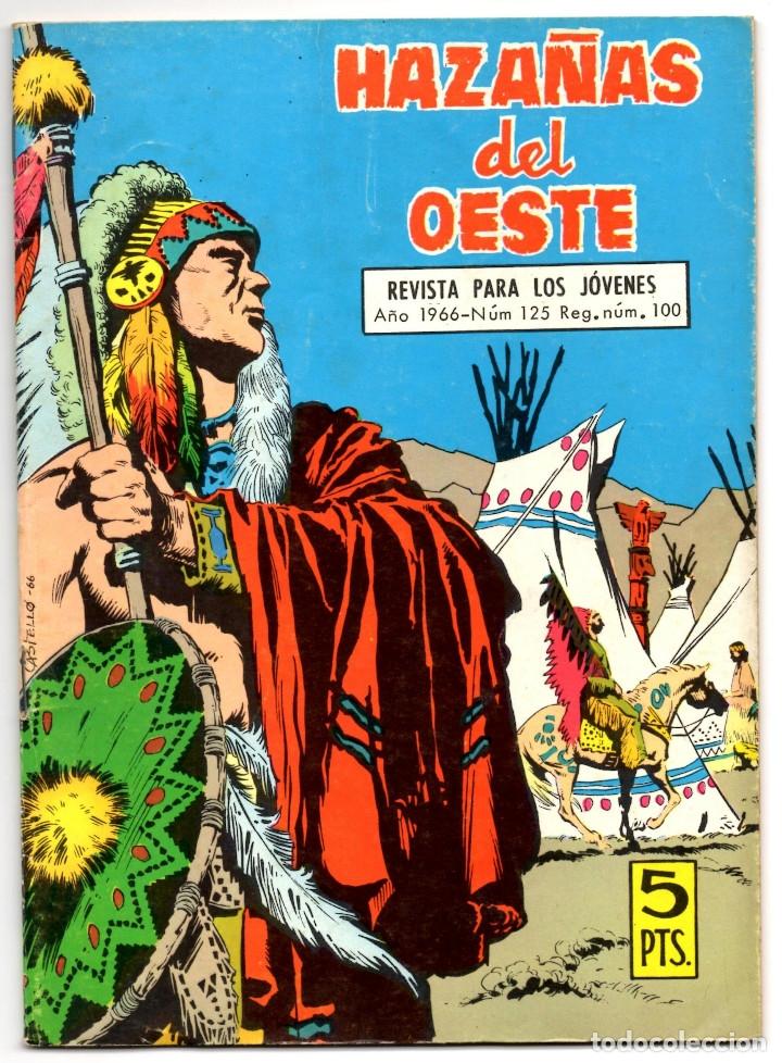 Tebeos: HAZAÑAS DEL OESTE nº 15, 24, 27, 35, 40, 125, 163, 239 y 243 (Toray 1962) 9 tebeos. - Foto 12 - 153481110
