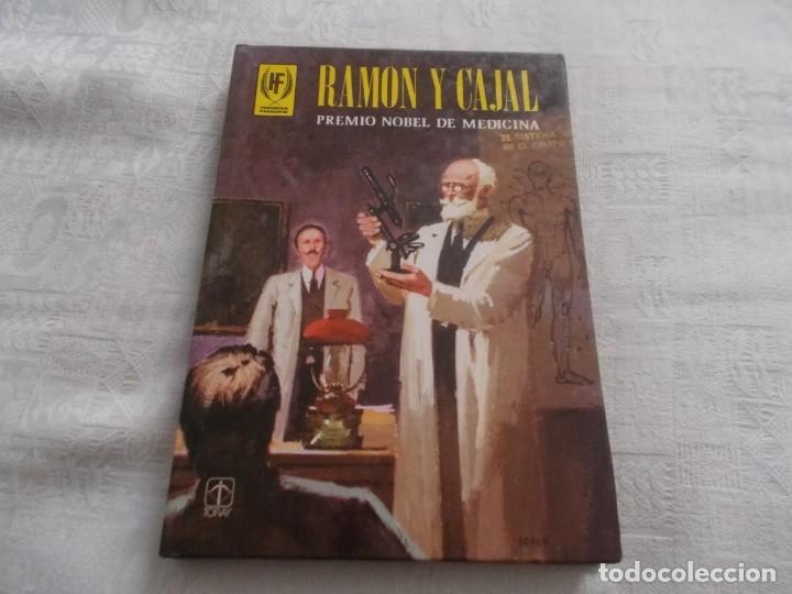 HOMBRES FAMOSOS Nº 21 RAMÓN Y CAJAL (Tebeos y Comics - Toray - Otros)