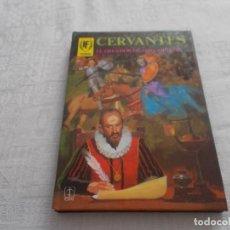 Tebeos: HOMBRES FAMOSOS Nº 1 CERVANTES. Lote 167987260