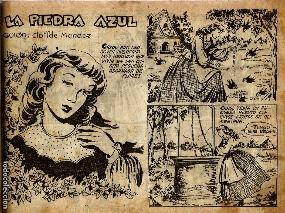 Tebeos: COLECCION ORIGINAL AZUCENA ENCUADERNADA DE 40 TEBEOS. EDITORIAL TORAY, AÑOS -50-60. - Foto 5 - 127636095