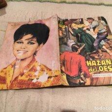 Tebeos: HAZAÑAS DEL OESTE Nº 53 LOS RUFIANES DE LA FRONTERA. Lote 168997276